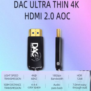 DAC 2.0 Active Optical HDMI Cable